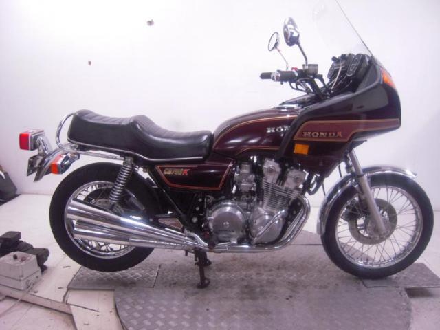 1981 Honda CB750K Unregistered US Import Barn Find Classic Restoration Project