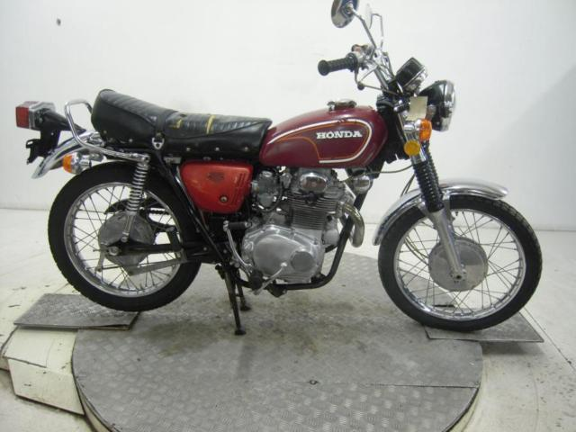 1973 Honda CL350K5 Unregistered US Import Barn Find Classic Restoration Project