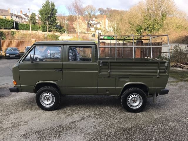 VW TRANSPORTER DOUBLE CAB 4X4 SYNCRO EX AMERICAN MILITARY
