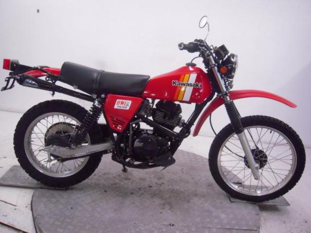 1981 Kawasaki KL250A Unregistered US Import Barn Find Classic Restoration Proj