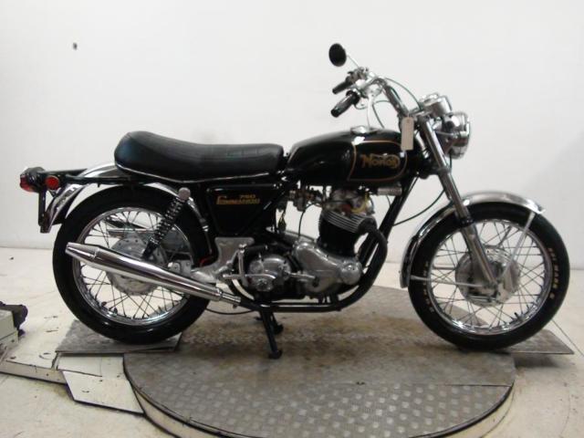 1972 Norton 750 Commando Unregistered US Import Barn Find Classic Restoration
