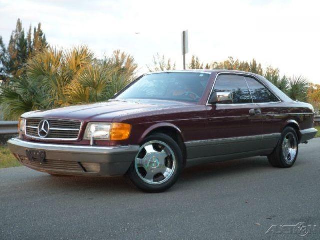 1986 Mercedes-Benz 500-Series 560SEC COUPE AUTOMATIC