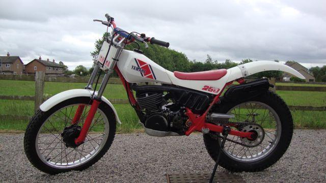 Yamaha TY250 Mono / TY 250 1985, Classic Trials Bike, 59N Model