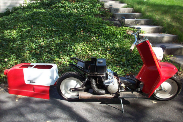 1961 AH HARLEY DAVIDSON TOPPER SCOOTER  EASY TRIP FROM BALTIMORE MD