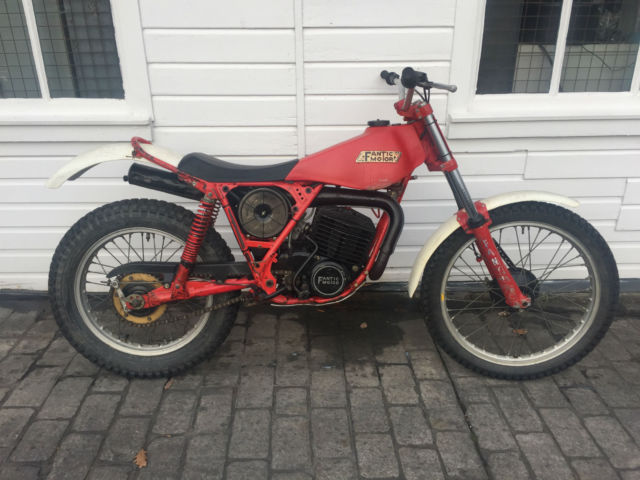 FANTIC 240 TWINSHOCK TRIALS BIKE ORIGINAL UNMOLESTED CONDITION