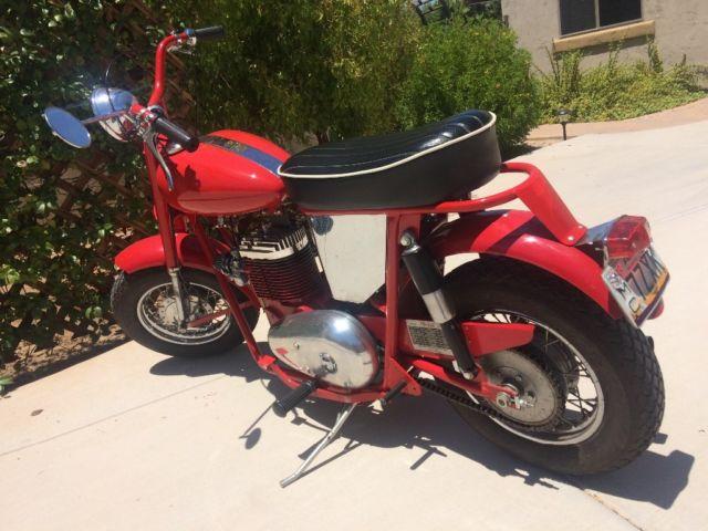 1962 Mustang Motorcycle