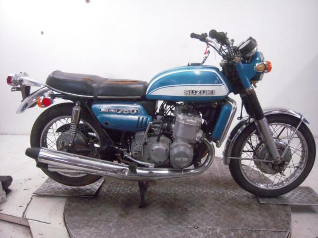 1972 Suzuki GT750J Unregistered US Import Barn Find Classic Restoration Project