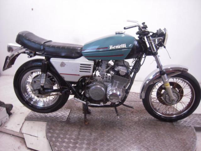 1976 Benelli 500 Quattro Unregistered US Import Barn Find Classic Restoration