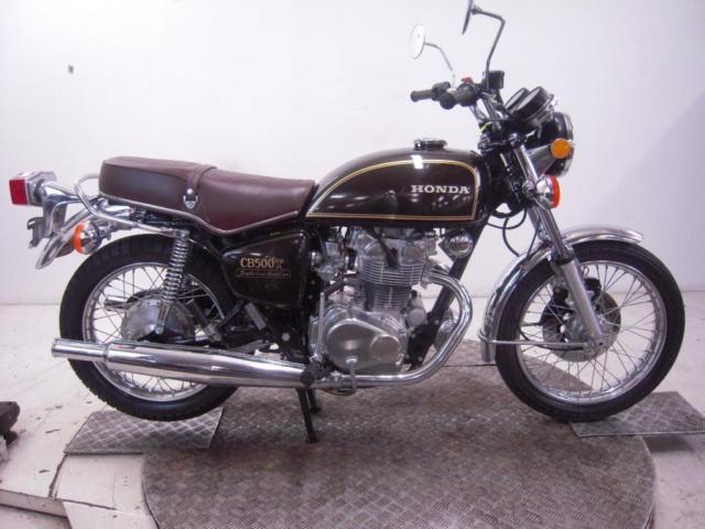 1975 Honda CB500T0 Unregistered US Import Barn Find Classic Restoration Project