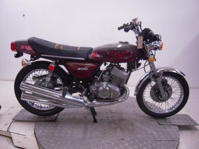 1975 Kawasaki S3A 400 Mach II Unregistered US Import Barn Find Classic Restore