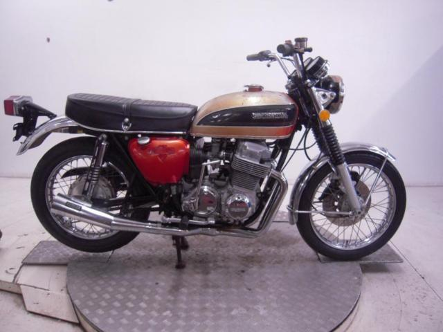 1975 Honda CB750K5 Unregistered US Import Barn Find Classic Restoration Project