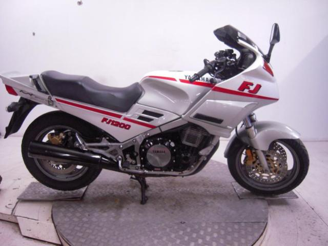 1989 Yamaha FJ1200 Unregistered Jap Import Barn Find Classic Restoration Project