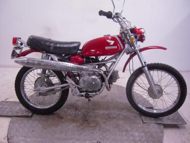 1969 Honda SL90 Motosport Unregistered US Import Barn Find Classic To Restore