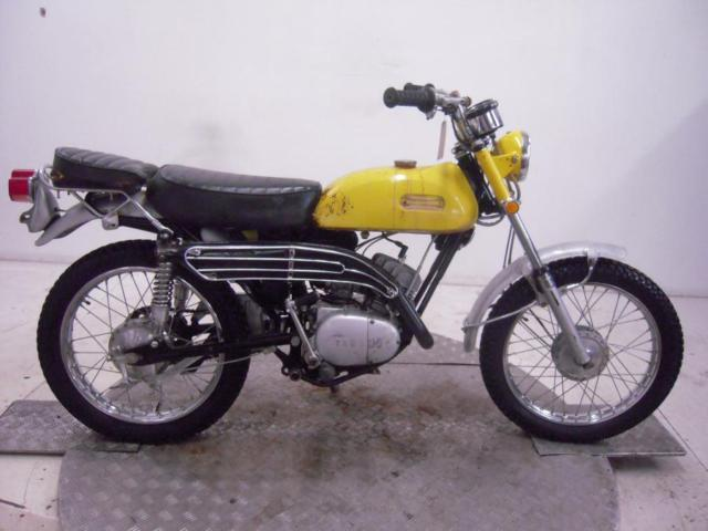 1970 Yamaha AT1B 125 Enduro Unregistered US Import Barn Find Classic Restoration