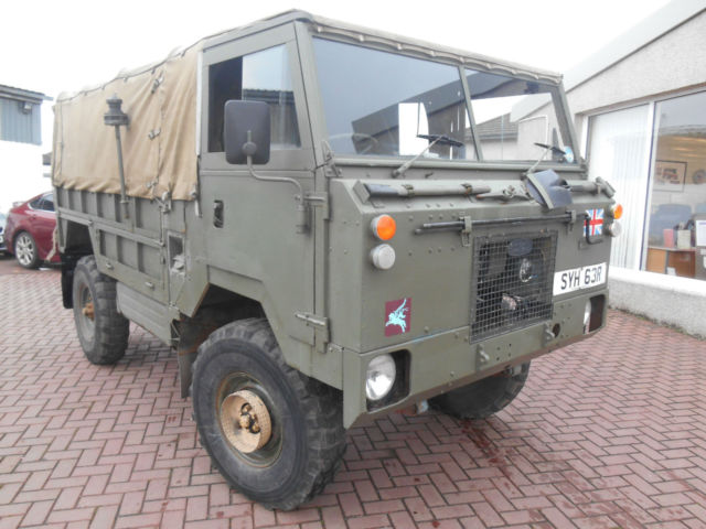 1977 Land Rover 101 Forward Control FC 3500cc V8 EX ARMY - VERY RARE MACHINE