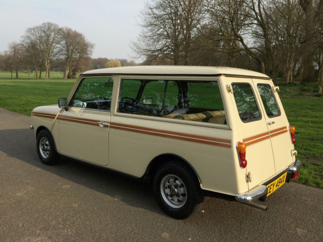1981 Austin Mini Clubman Estate 1 Owner For 34 Years 20000