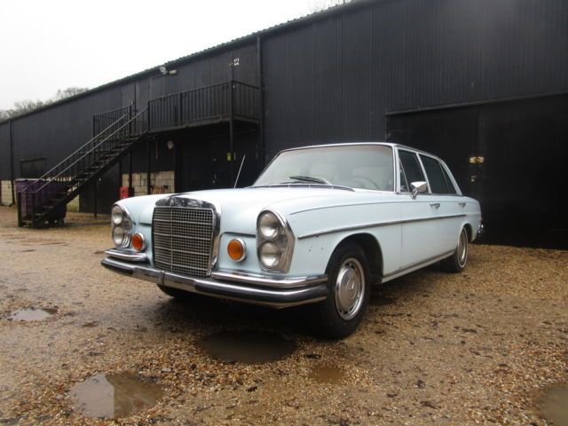 Mercedes 280 SEL 4.5  LHD Sunroof.  Rare Project  Dry Climate Car