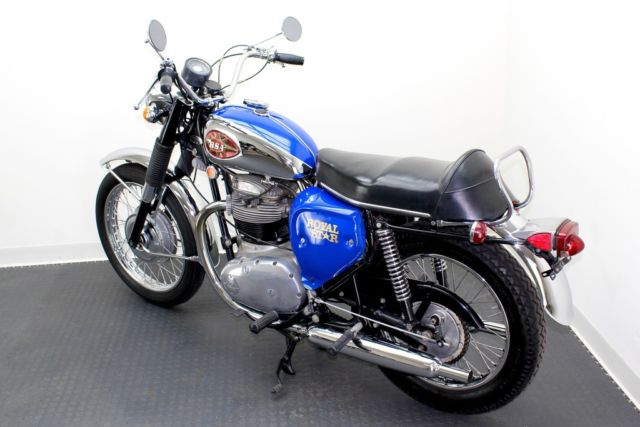 1969 BSA A50 500 ROYAL STAR, RESTORED AND FACTORY CORRECT, 6,882 ORIGINAL MILES