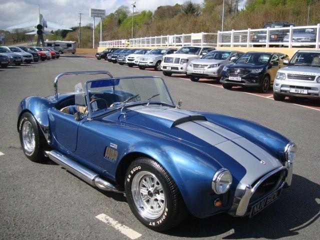 1990 AC COBRA 427 REPLICA 5.7 V8 AK GRAVETTI ENGINEERING WITH 5,000 MILES