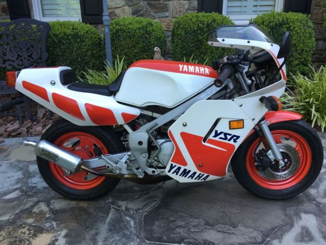 1987 Yamaha YSR 50 Only 777 Miles Beautiful Condition Pocket Rocket