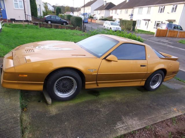 PONTIAC TRANS AM / TRANSAM CAR, GOLD, 1989, 87000 MILES!! KNIGHT RIDER MODEL