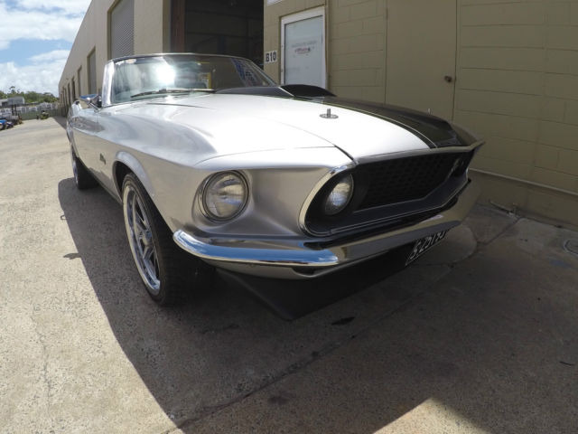 1969 FORD MUSTANG CONVERTIBLE RESTORED IN AUSTRALIA