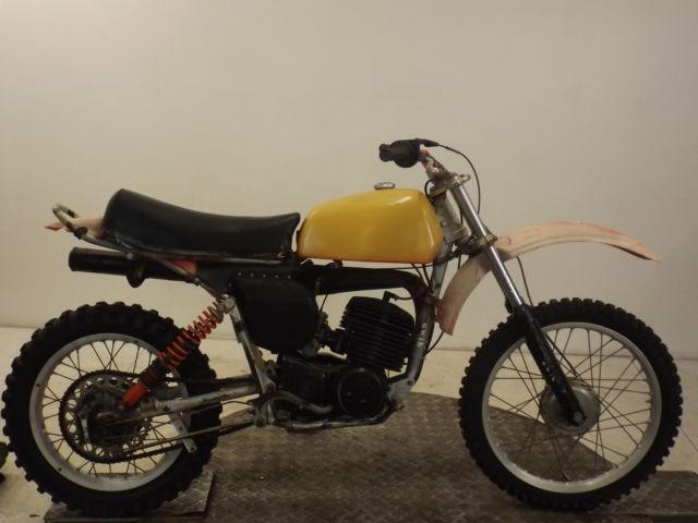 HUSQVARNA  WR360 2 STROKE 1976  TWINSHOCK  ENDURO BIKE*RUNS & RIDES RESTORATION*