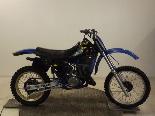 YAMAHA YZ490 1982 EVO MOTOCROSS BIKE*RESTORATION*RUNS & RIDES-BARN FIND*