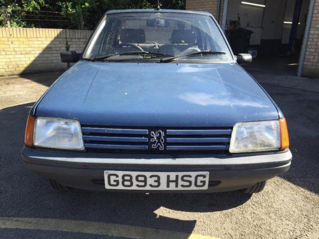 1990 G PEUGEOT 205 1.8 D GLD 5DR 1 OWNER FROM NEW!!!!! 12 MONTHS MOT  DIESEL