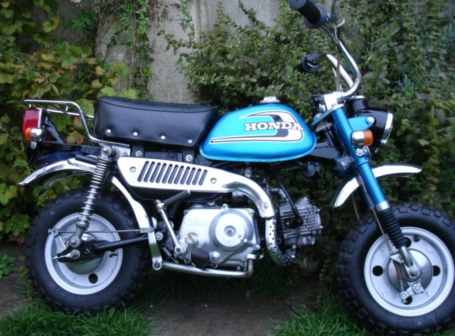 Honda Monkey Z50 Z50J 1974 Low Miles Lovely Original Condition UK Registered