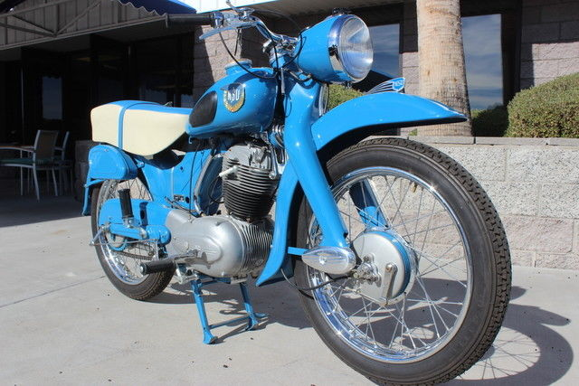 1954 NSU Max Standard Classic Retro Motorcycle
