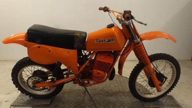 CAN AM 370 MX5 1979 TWINSHOCK MOTORCROSS BIKE* RESTORATION-PROJECT-VERY RARE