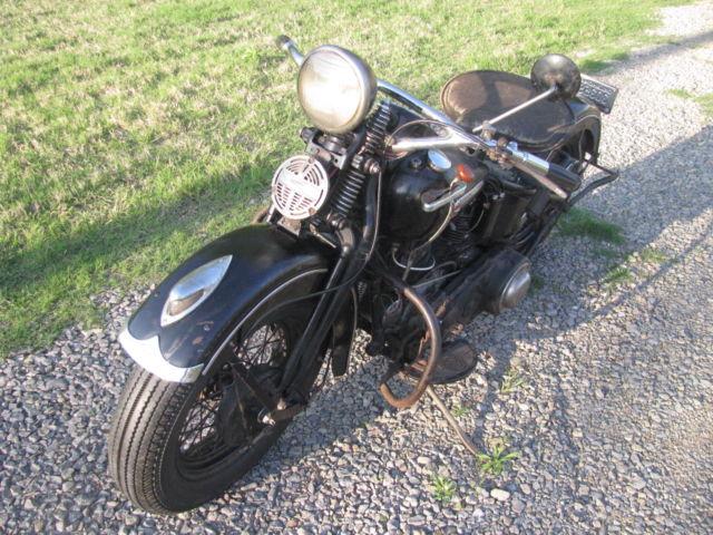 1947 Knucklehead FL Original Unrestored For Sale ...