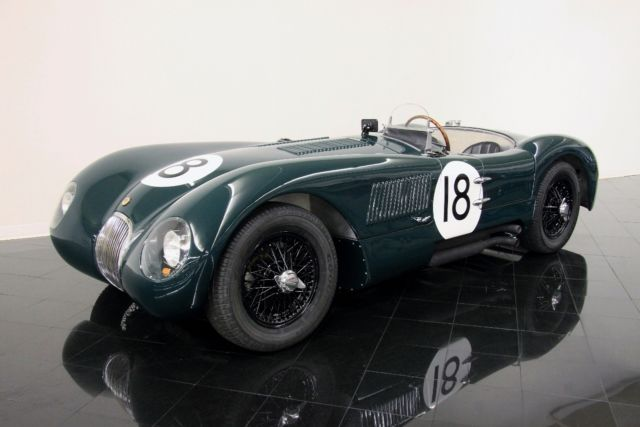1953 Jaguar C-Type #18 Le Mans Sports Racer Replica *$981 PER MONTH!*