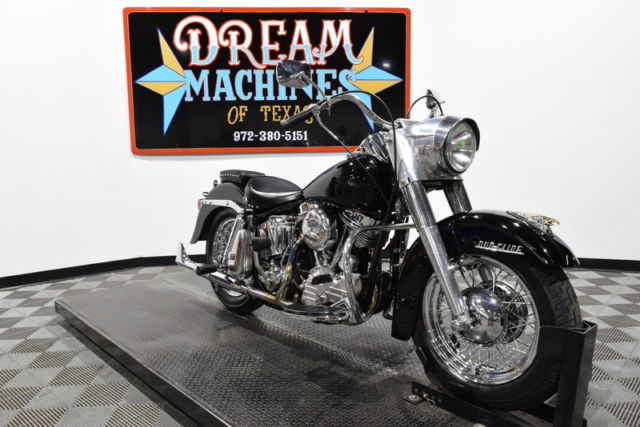 Dream Machines of Texas 1961 Harley-Davidson FLH - Duo Glide Panhead   17920 Mil
