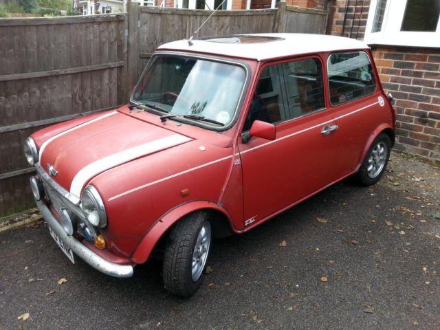 1990 Rover Mini Cooper Rsp Redwhite Garage Stored Restoration