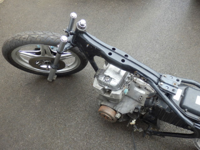 Honda Superdream CB 250N Custom chop low rider project classic Cafe Bobber