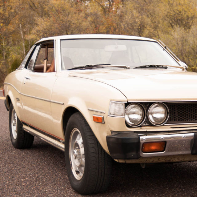 1976 Toyota Celica,True 2-Owner California Car,Full Maintenance Records