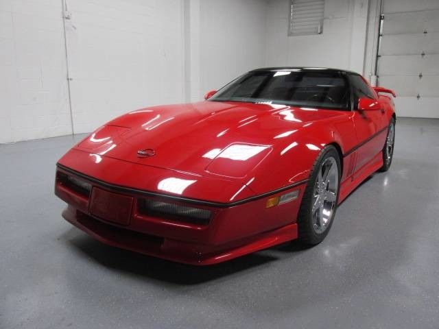 86 Chevy Corvette Red Greenwood Ground Effects Automatic Nitto ZR Tires