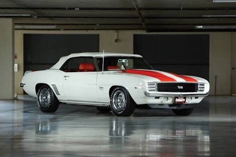 Camaro Z11 RS-SS 1969 Indy Pace Car Project Chevrolet Worldwide Sale