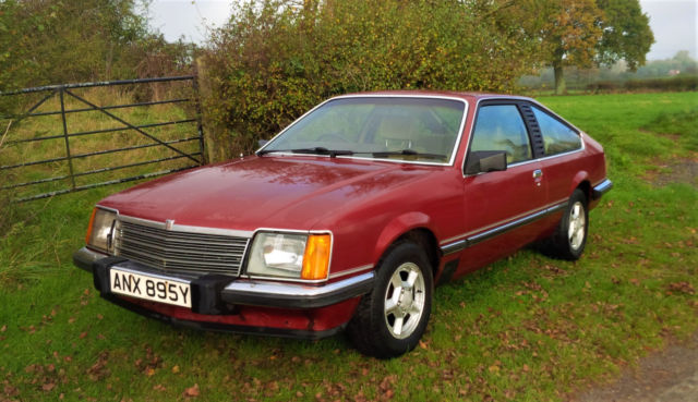 1982 VAUXHALL ROYALE COUPE 3.0 INJECTION - AKA OPEL MONZA GTE & SENATOR