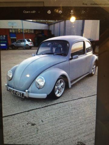 VW Beetle 1600 Suicide Bug Show Car