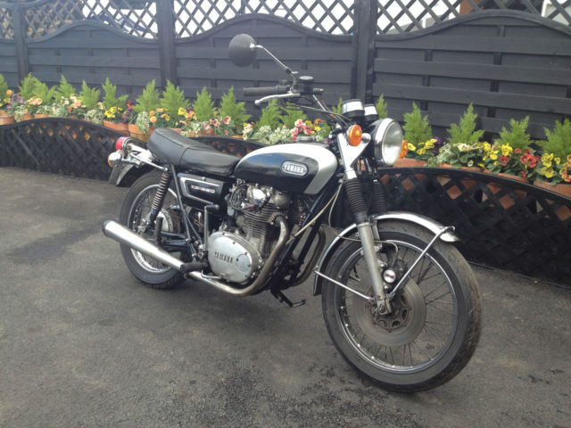 yamaha xs650 bonnevile completely original bike runs great motd ride away