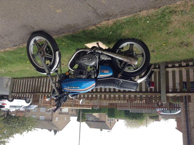 Honda CB400a Automatic barn find classic cafe racer bobber rare!