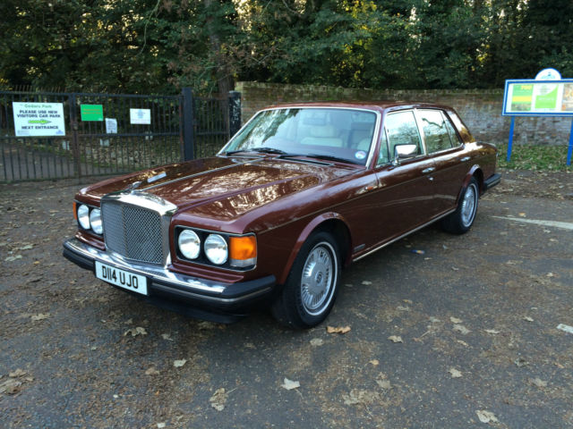 CLASSIC 1986  BENTLEY EIGHT (8) ONLY 85,000 MILES FROM NEW WITH HISTORY NEW MOT