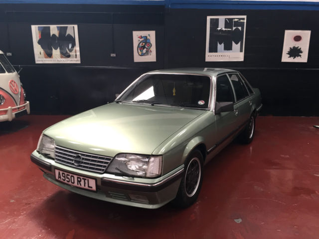 1983 OPEL SENATOR 2.5 FSH FROM BRAND NEW AND IMMACULATE RARE FIND AND JUST MOT'D