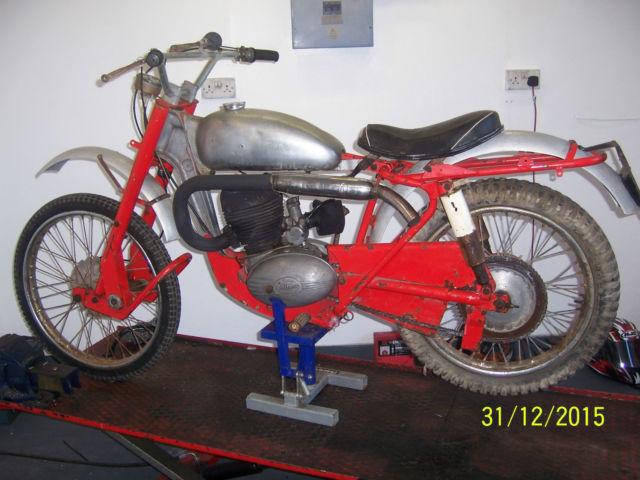 Greeves Hawkstone trials bike 1950s