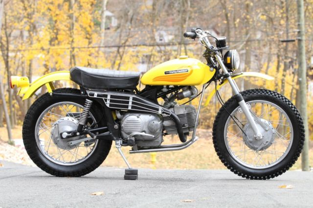1972 Harley-Davidson Aermacchi Sprint SX350 Classic Vintage Enduro 6,577 miles!