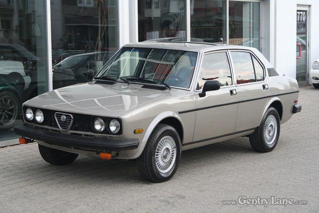 Alfa Romeo Alfetta Giulietta For Sale Mississauga Ontario Canada Automotoclassicsale Com