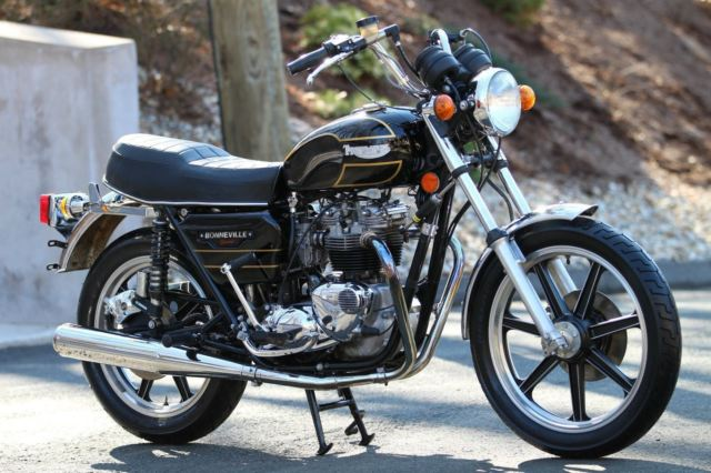 Triumph Bonneville Special 1979, Absolutely Gorgeous Condition, Runs Like New!!